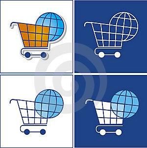 Globe In Basket Stock Image - Image: 23204391
