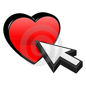 Heart And Cursor Royalty Free Stock Image - Image: 23204396