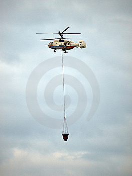 Helicopter Fighting Fire Royalty Free Stock Photos - Image: 23210268