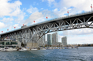 Granville Street Bridge Royalty Free Stock Photos - Image: 23213098