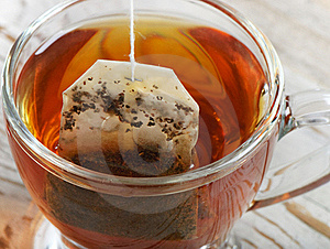 Teabag In The Cup Royalty Free Stock Images - Image: 23217989