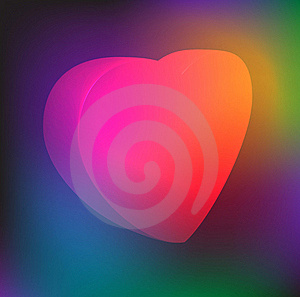 Valentine Background With Heart Stock Photo - Image: 23226270