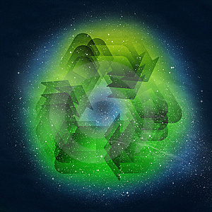 Recycle Symbol Royalty Free Stock Photography - Image: 23226787