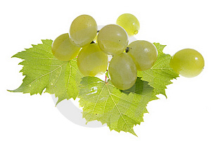 Grapes Isolated Royalty Free Stock Images - Image: 23235579