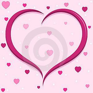 Heart Background Royalty Free Stock Images - Image: 23249589