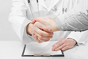 Doctor With Stethoscope And Clipboard Royalty Free Stock Photography - Image: 23251567