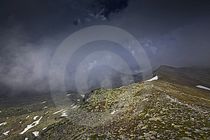 Mountain  Scenery In The French Alps In Summer Stock Images - Image: 23252104