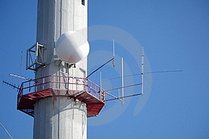 Telecommunications Tower Stock Photos - Image: 23253993