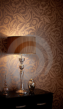 Table Lamp Royalty Free Stock Photo - Image: 23260445