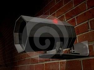 Security Camera Royalty Free Stock Photo - Image: 23262965