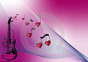 Love To Music Stock Images - Image: 23263224