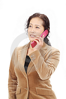 Asian Business Woman Stock Photos - Image: 23268873