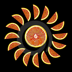 Blood Red Oranges Stock Images - Image: 23272364