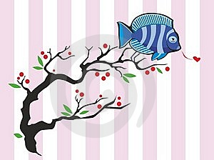 Twitting Fish Royalty Free Stock Photography - Image: 23274657