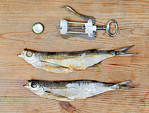 Dry Salty Fish Stock Images - Image: 23279634