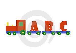 Alphabet Train Royalty Free Stock Images - Image: 23282749