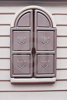 Fun House Window Stock Photo - Image: 23282800