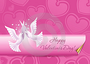 Background On Valentine's Day Stock Images - Image: 23283174