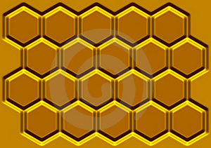 Honey Honeycomb Stock Image - Image: 23284201