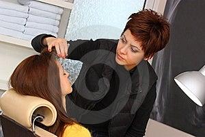 Eyebrow Plucking Stock Image - Image: 23294011