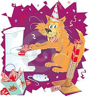 Presents For Kitty Stock Image - Image: 23295051