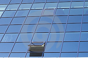 Windows Of Modern Buliding Stock Image - Image: 2335581