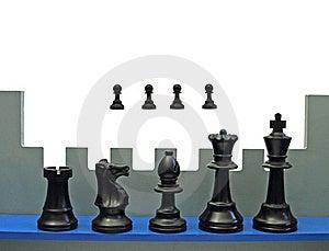Chess Rampart Stock Photo - Image: 23300960