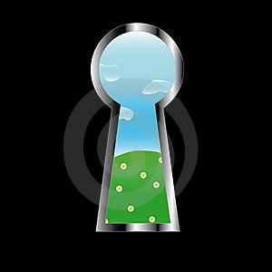 Door Eye Stock Image - Image: 23311201