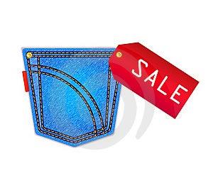 Jeans Pocket Stock Photo - Image: 23315980