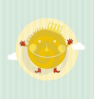 Sun Portrait Stock Image - Image: 23322631