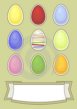Easter Greeting Card Royalty Free Stock Image - Image: 23325616