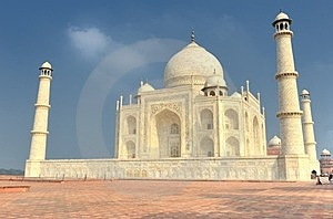 The Taj Mahal Mausoleum Stock Photography - Image: 23330642