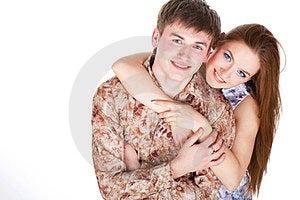 Loving Couple Embracing Stock Photos - Image: 23331173