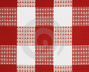 Red Fabric Design Stock Image - Image: 23331861