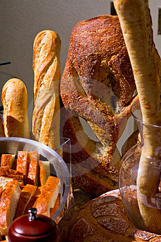 Bread Display Royalty Free Stock Images - Image: 23332049