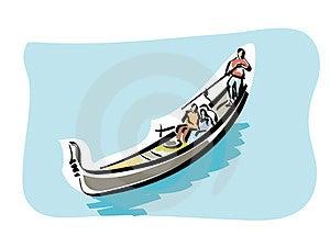 Venetian Gondola Royalty Free Stock Photos - Image: 23342478