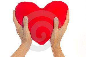 Red Heart Stock Photo - Image: 23347530