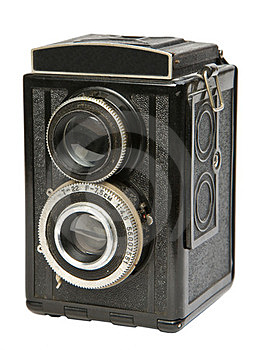 Old Twin Lens Reflex Camera Royalty Free Stock Photography - Image: 23348417