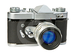 Old 35mm Camera Royalty Free Stock Images - Image: 23348439