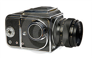 Old Medium Format Camera Stock Photography - Image: 23348462