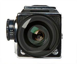 Old Photo Camera Stock Image - Image: 23348471
