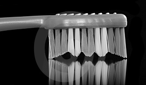 Monochrome Toothbrush Royalty Free Stock Images - Image: 23360869