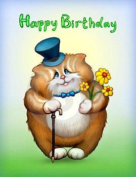 Birthday Card Royalty Free Stock Image - Image: 23368776