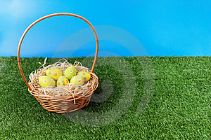 Easter Eggs Hunt Time Royalty Free Stock Photos - Image: 23372588