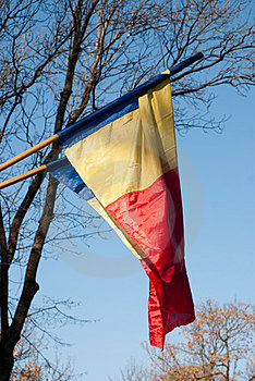 Romanian Flag Royalty Free Stock Photo - Image: 23373835
