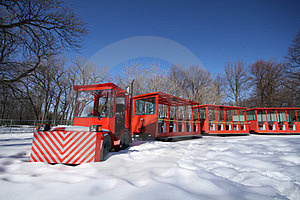 Red Train Royalty Free Stock Photo - Image: 23378365
