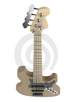 Jazz Bass Guitar Stock Photography - Image: 23383802