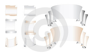 Paper Banners Stock Photo - Image: 23385350