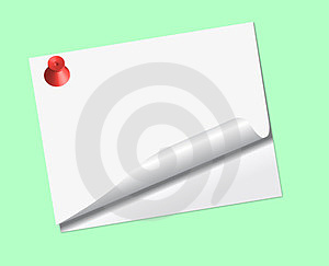 Paper Notice Royalty Free Stock Photography - Image: 23385367