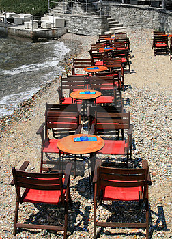 Restaurant On The Beach Stock Photos - Image: 23385583